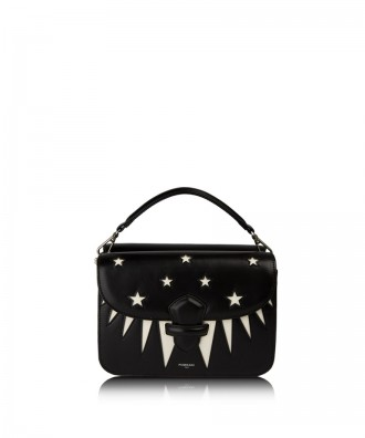 MARGHERITA INTARSI crossbody bag