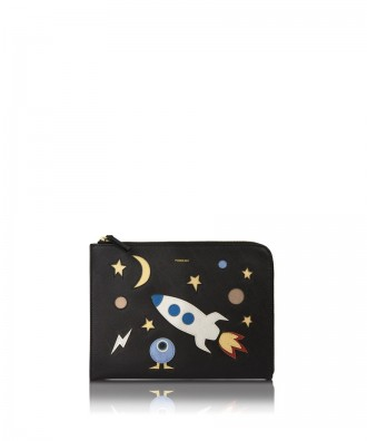 LUNA SPACE clutch