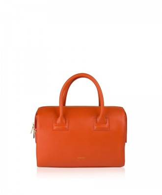 Pomikaki SIENNA handbag Orange 30x20x11 cm
