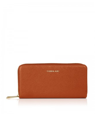 Pomikaki Lucy wallet red brick
