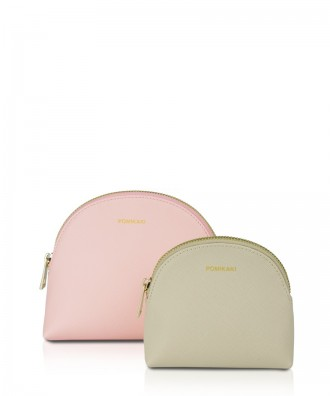 Pomikaki Frida trousse pink/cream