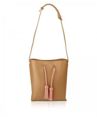 Pomikaki Diana shoulder bag camel