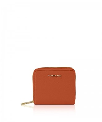 Pomikaki Aida wallet red brick