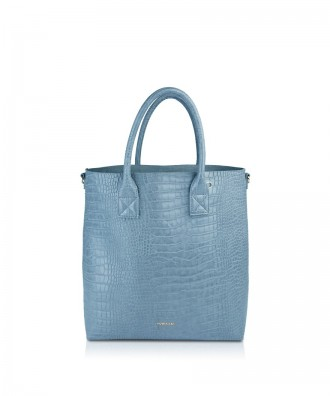 Pomikaki Elettra shopper sky blue