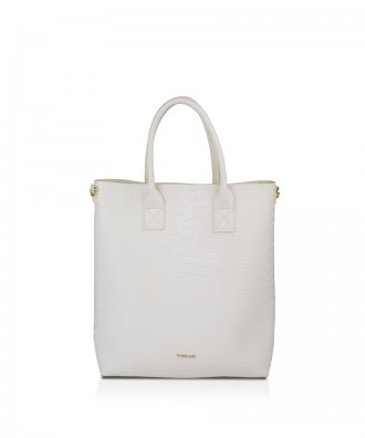 Pomikaki Elettra shopper white