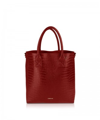 Pomikaki Elettra shopper red