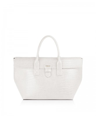 Pomikaki Marica shopper white