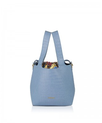 Pomikaki Teresa shopper sky blue