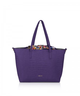 Pomikaki Meryl shopper purple