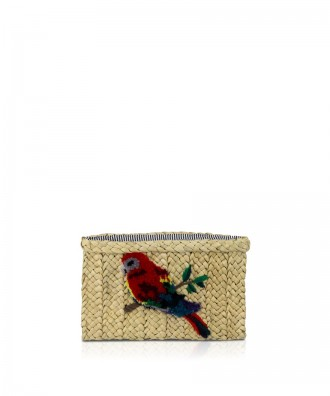 Pomikaki Scilla clutch natural