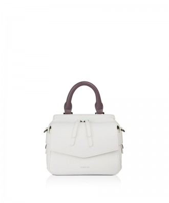 Pomikaki Minnie handbag white