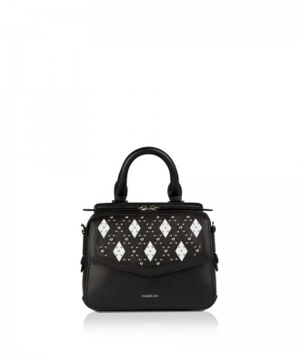 Pomikaki Minnie bally handbag black