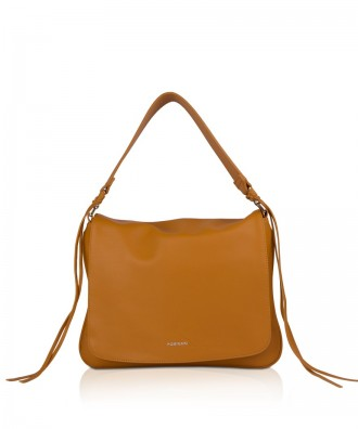 Pomikaki NELLY shoulder bag Honey 30x23x7 cm