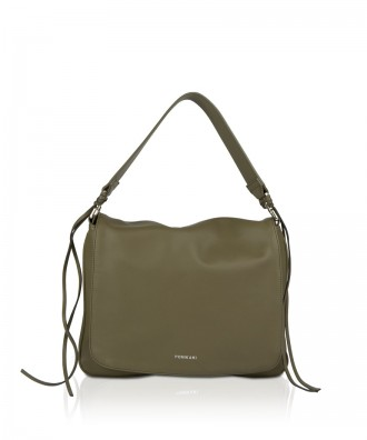 Pomikaki NELLY shoulder bag Sage Green 30x23x7 cm