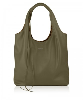 Pomikaki HOPE shoulder bag Sage Green 38x37x14 cm