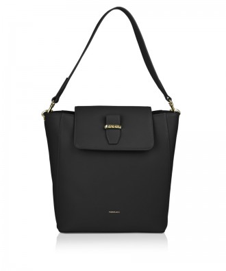 Pomikaki Clarissa shoulder bag black