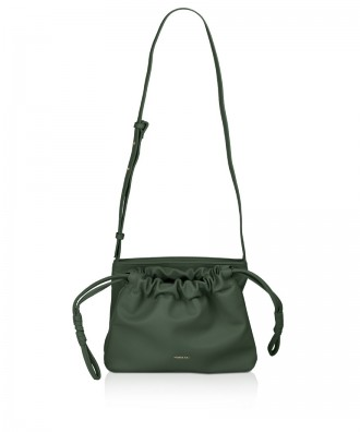 Pomikaki SABRINA crossbody bag Military Green 25x18x10,5 cm