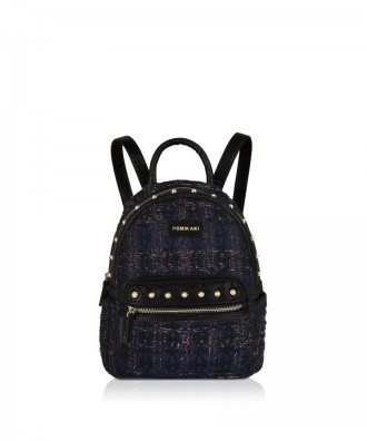 Pomikaki MEGGY backpack Black 21,5x27x17 cm