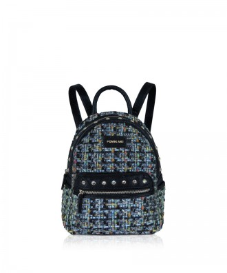 Pomikaki MEGGY backpack Light Blue 21,5x27x17 cm