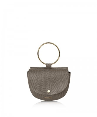 Pomikaki Joia clutch grey