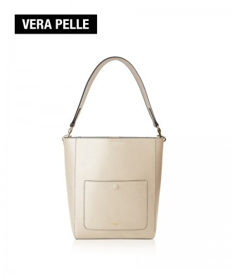 Pomikaki Venice shoulder bag cream