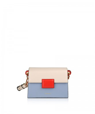 Pomikaki Lolly Pop crossbody bag cream