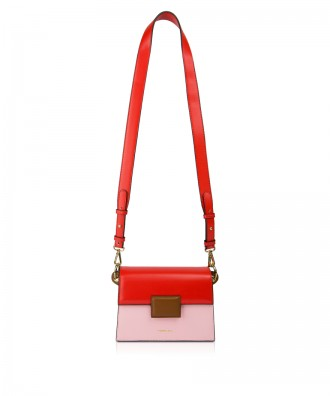 Pomikaki Lolly Pop crossbody bag red