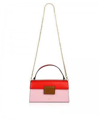 Pomikaki Lolly Pop handbag red