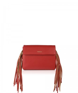 Pomikaki Kalì crossbody clutch bag red