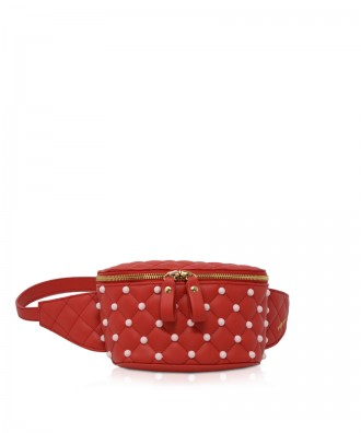 Pomikaki Cristina waist bag red