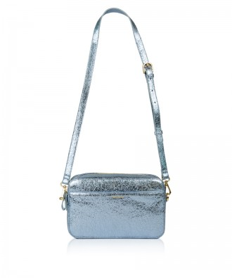 Pomikaki Goldie crossbody bag light blue