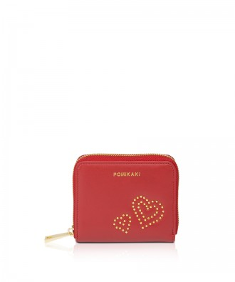 Pomikaki Titti wallet red