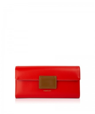 Pomikaki Lolita wallet red