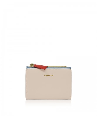 Pomikaki Poppy wallet cream