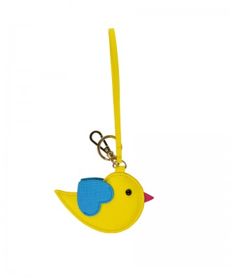 Pomikaki Bird key-chain yellow