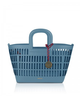 Pomikaki Kirigami handbag light blue