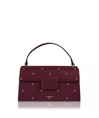 Borsa a mano media Lolly Pop bordeaux