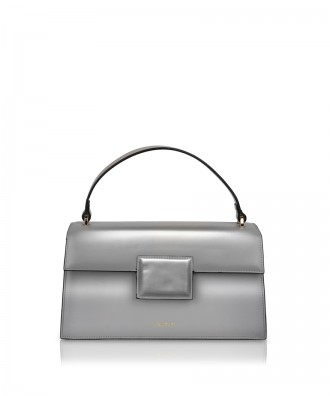 Pomikaki Lolly Pop handbag silver