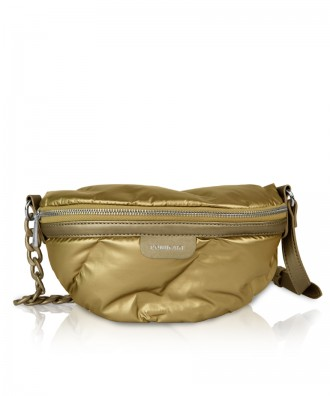 Pomikaki Puffy waistbag gold