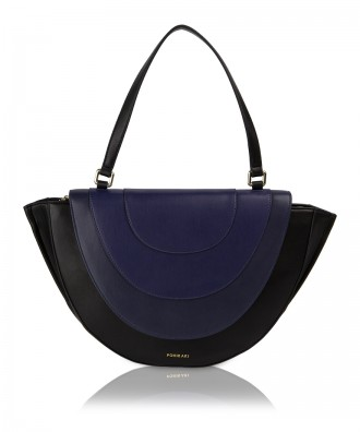 Pomikaki Ovaline shoulder bag blue