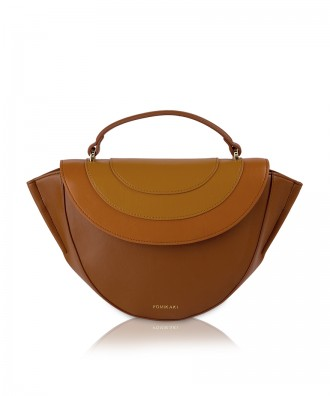 Pomikaki Ovaline handbag brown