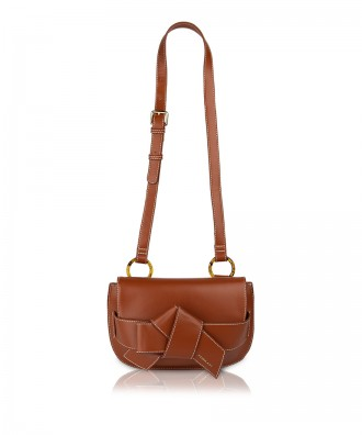 Pomikaki Suzanne crossbody bag brown
