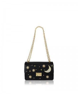 Pomikaki Giulietta Moon crossbody bag black