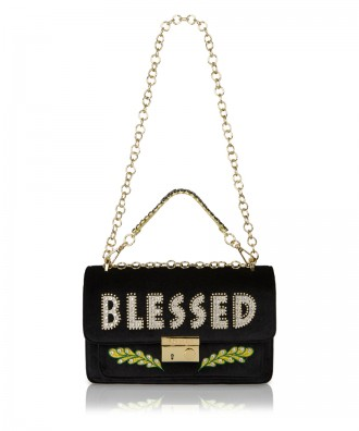 Pomikaki Giulietta Blessed crossbody bag black