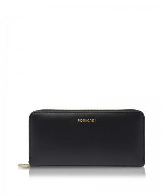 Pomikaki Louise wallet black