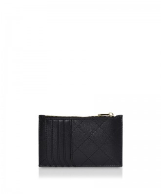 Pomikaki Vera Quilted credit cards holder black