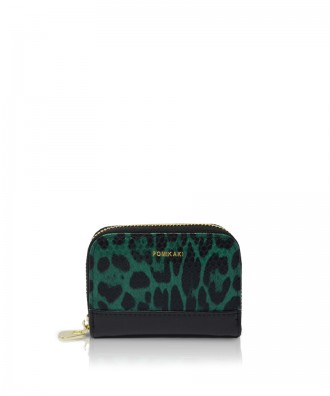 Pomikaki Candy Animalier credit cards holder green/black
