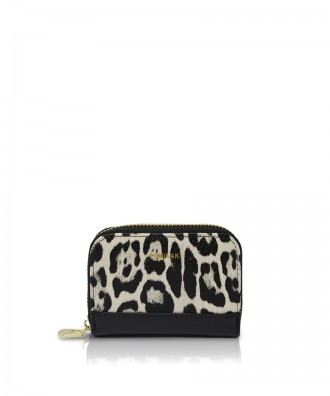 Pomikaki Candy Animalier credit cards holder khaki