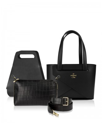 Pomikaki Origami small set Luxury black