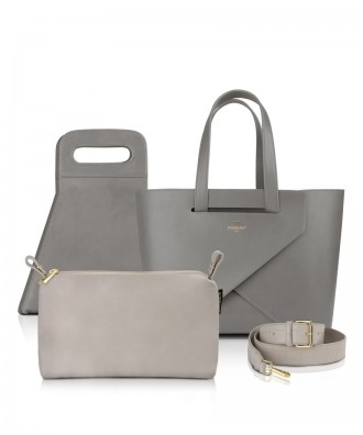 Pomikaki set Origami medium luxury grigio